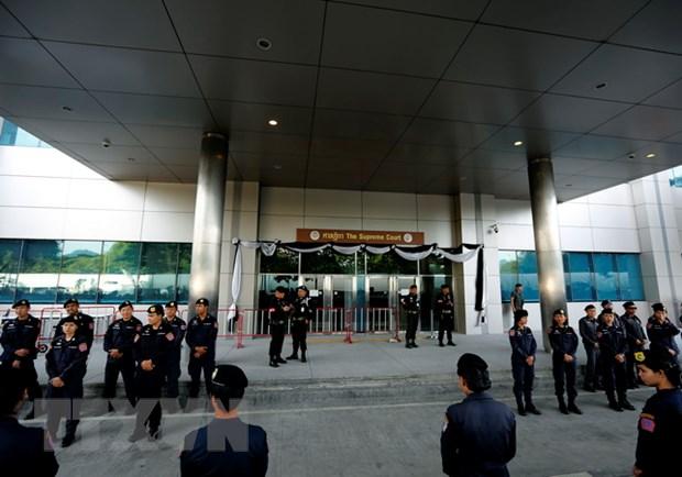 Thai Lan that chat an ninh truoc le hoa tang Nha vua Rama 9 hinh anh 1