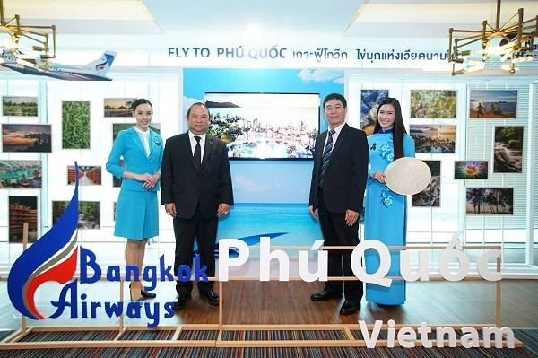 Hang hang khong Thai Lan khai truong duong bay Bangkok-Phu Quoc hinh anh 1