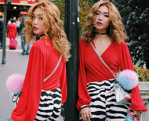Fashionista Viet mix do ''chat lu'' du tuan le thoi trang Paris hinh anh 2