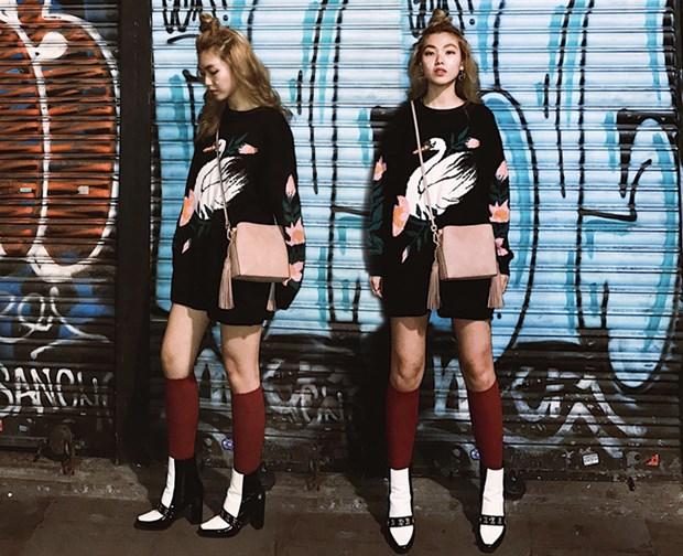 Fashionista Viet mix do ''chat lu'' du tuan le thoi trang Paris hinh anh 3