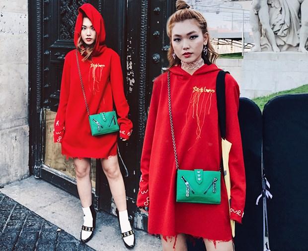 Fashionista Viet mix do ''chat lu'' du tuan le thoi trang Paris hinh anh 4