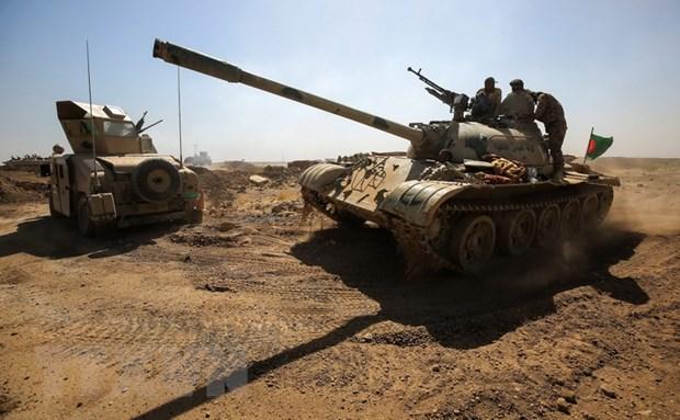 Luc luong Iraq tien vao vung tranh chap do nguoi Kurd kiem soat hinh anh 1