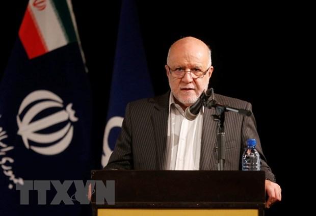 Bo truong Dau mo Iran: Ong Trump nen cho cong ty My lam an voi Tehran hinh anh 1