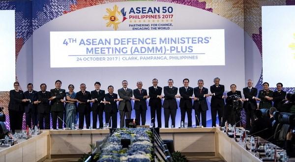 ADMM+ nhan manh vai tro cua ASEAN trong cau truc an ninh khu vuc hinh anh 1