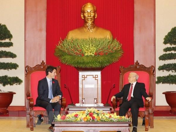 Bao Canada dua dam net ve chuyen tham Viet Nam cua Thu tuong Trudeau hinh anh 1