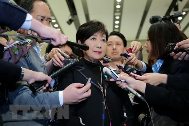 Nhat Ban: Thi truong Tokyo Yuriko Koike tu chuc chu tich dang Hy vong hinh anh 1
