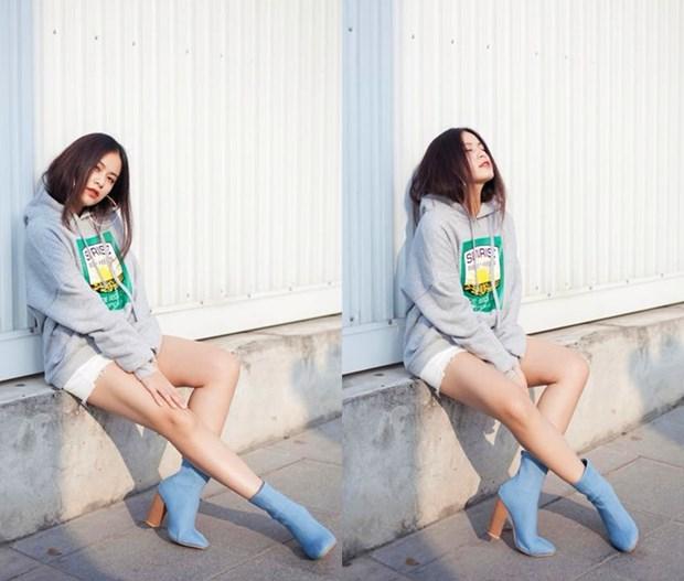 Street style 'gay thuong nho' cua my nhan Viet nhung ngay dau Dong hinh anh 4