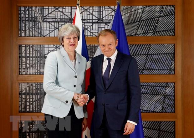 Van de Brexit: Anh va Lien minh chau Au nhat tri ve 'hoa don ly hon' hinh anh 1