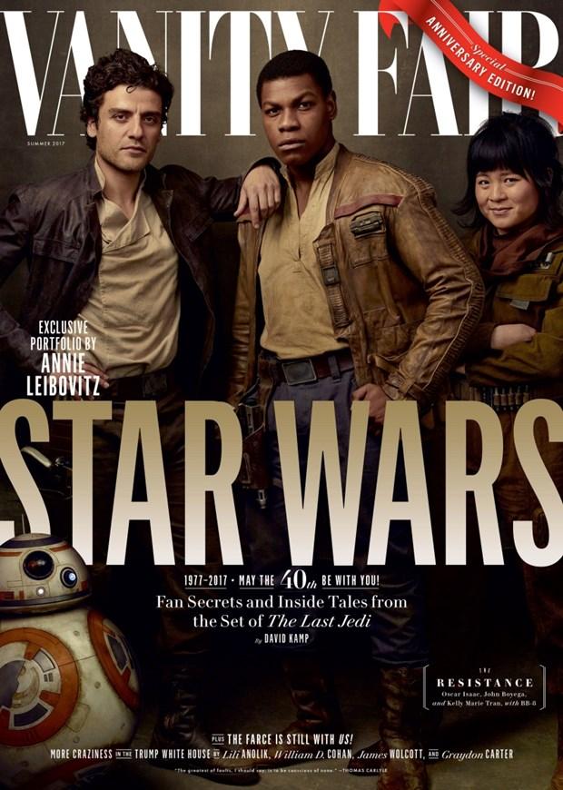 Gap 2 kieu nu goc Viet tham gia bom tan ''Star Wars: The Last Jedi'' hinh anh 3