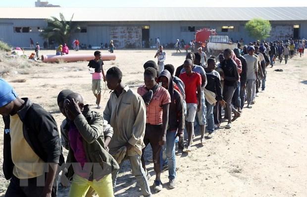 AU va EU nhat tri ke hoach khan cap ve nguoi di cu tai Libya hinh anh 1