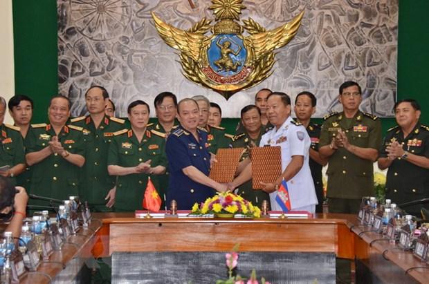 Viet Nam-Campuchia phoi hop phong, chong cuu ho cuu nan khu bien gioi hinh anh 2