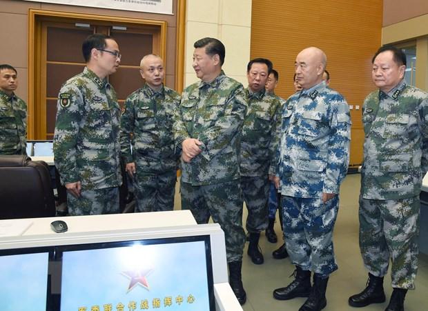 Trung Quoc san sang tiep tuc phat trien quan he quoc phong voi Nga hinh anh 1