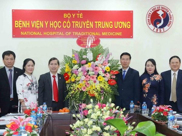 Benh vien Y hoc co truyen Trung uong can phat trien them bai thuoc moi hinh anh 1