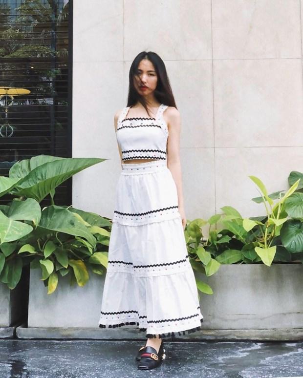 Trang phuc denim phu song street style cua my nhan Viet tuan qua hinh anh 9