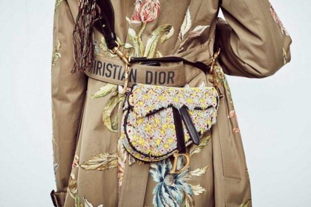 "Chiec tui Saddle hinh yen ngua, ""hot hit"" mot thoi cua Dior tro lai hinh anh 6"