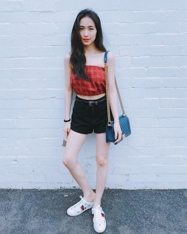 Thanh Hang, Ho Ngoc Ha va dan sao Viet chat lu voi hoa tiet ke hinh anh 6