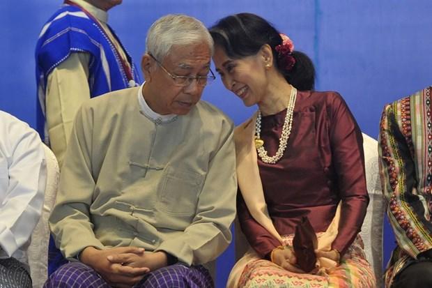 Pho Tong thong Myanmar U Myint Swe tam nam quyen tong thong hinh anh 1
