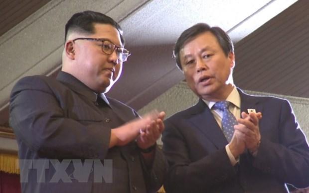 Kim Jong-un: Trinh dien am nhac the hien su doan ket giua hai mien hinh anh 1