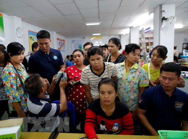 Thai Lan se trung phat nghiem khac lao dong nuoc ngoai bat hop phap hinh anh 1