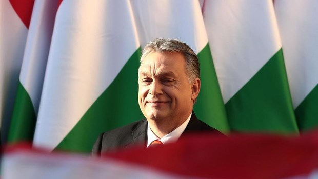 Cu tri Hungary bat dau di bo phieu trong cuoc tong tuyen cu hinh anh 1