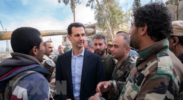Tong thong Syria al-Assad tuyen bo cac nuoc tan cong da mat kiem soat hinh anh 1