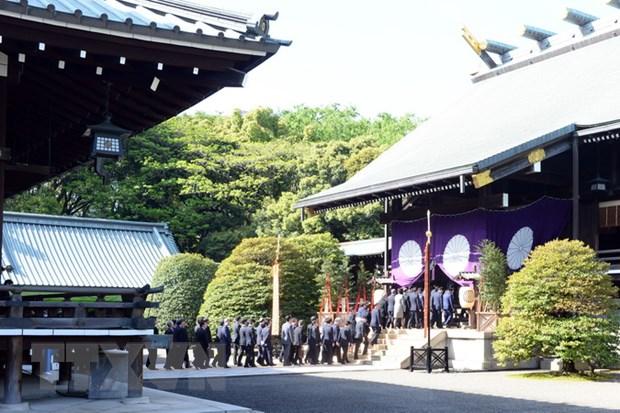 Han Quoc phan doi cac chinh tri gia Nhat Ban tham den Yasukuni hinh anh 1
