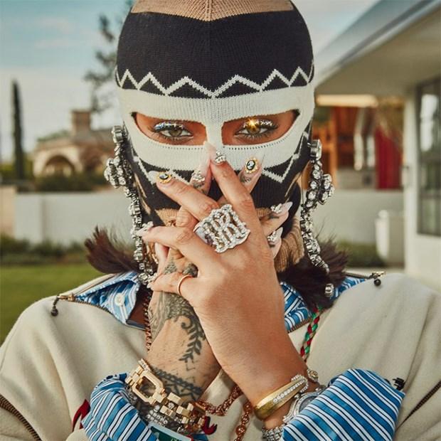 Rihanna toa sang tai Coachella voi phong cach khong the dung hang hinh anh 9