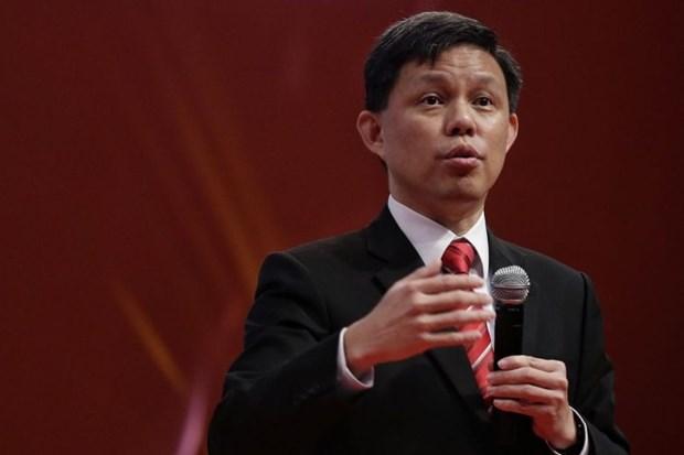 Thu tuong Singapore Ly Hien Long bo nhiem Bo truong Thuong mai moi hinh anh 1
