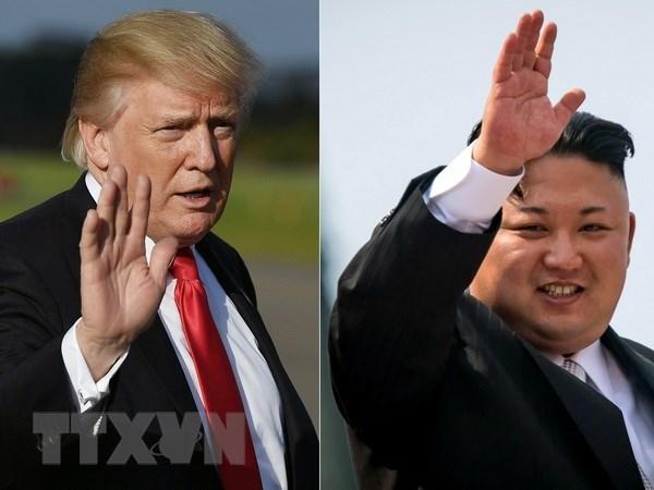 Tong thong My Donald Trump ca ngoi nha lanh dao Trieu Tien hinh anh 1
