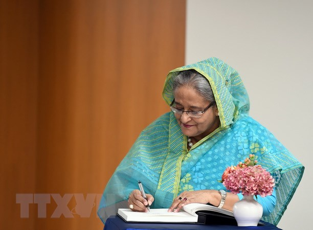 Thu tuong Bangladesh Sheikh Hasina tham chinh thuc Australia hinh anh 1