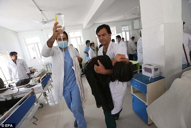 Afghanistan: 45 hoc sinh nhap vien do nghi bi tan cong bang khi doc hinh anh 1