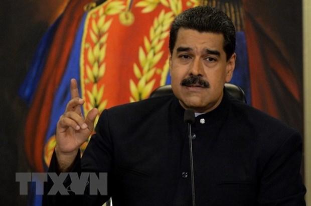 Tong thong Venezuela keu goi phe doi lap doi thoai sau bau cu hinh anh 1