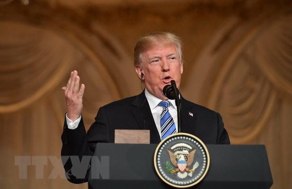 Ong Trump: Khong nhac toi van de Iran trong thuong dinh My-Trieu hinh anh 1