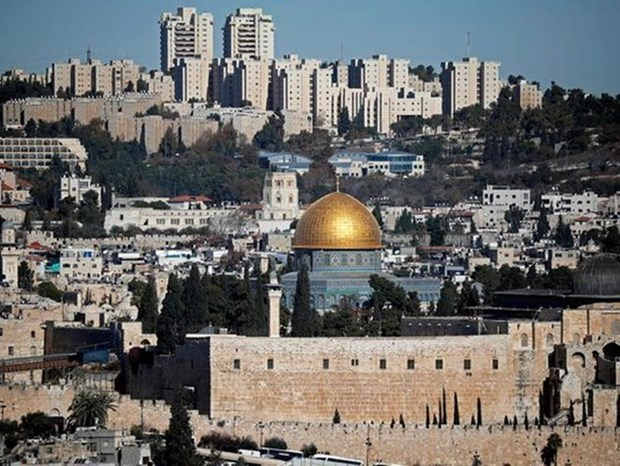 Jordan keu goi EU cong nhan Dong Jerusalem la thu do cua Palestine hinh anh 1