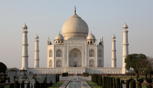 Den Taj Mahal hu hong do anh huong cua o nhiem khong khi hinh anh 1
