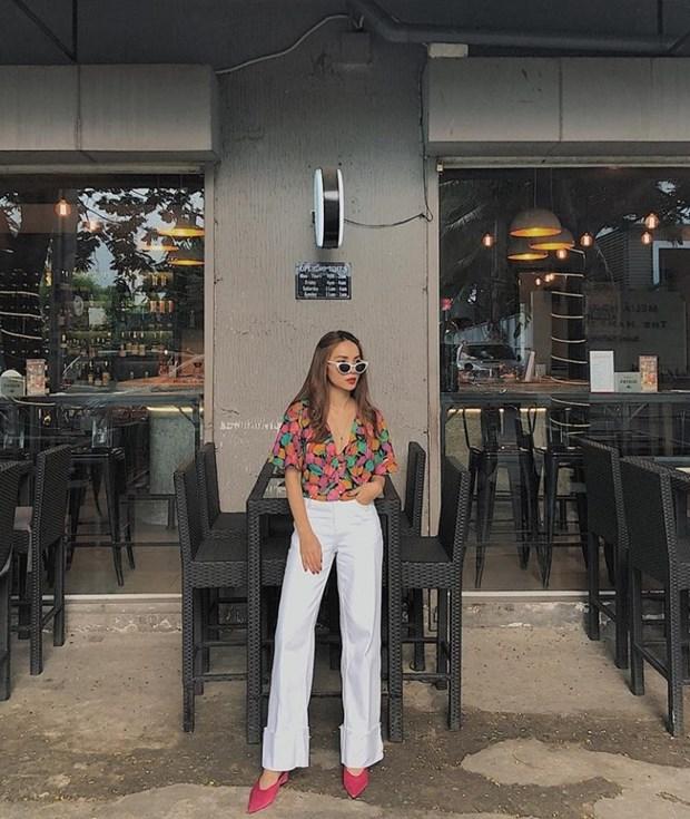 Ky Duyen, My Linh va Huong Giang do street style ngap tran hang hieu hinh anh 13