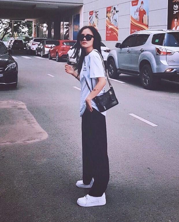 Ky Duyen, My Linh va Huong Giang do street style ngap tran hang hieu hinh anh 17