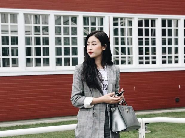 Ky Duyen, My Linh va Huong Giang do street style ngap tran hang hieu hinh anh 1