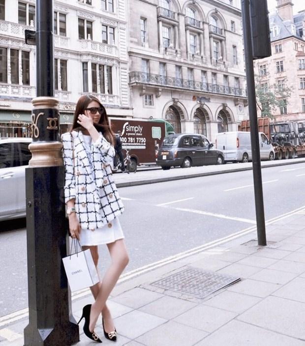 Ky Duyen, My Linh va Huong Giang do street style ngap tran hang hieu hinh anh 6