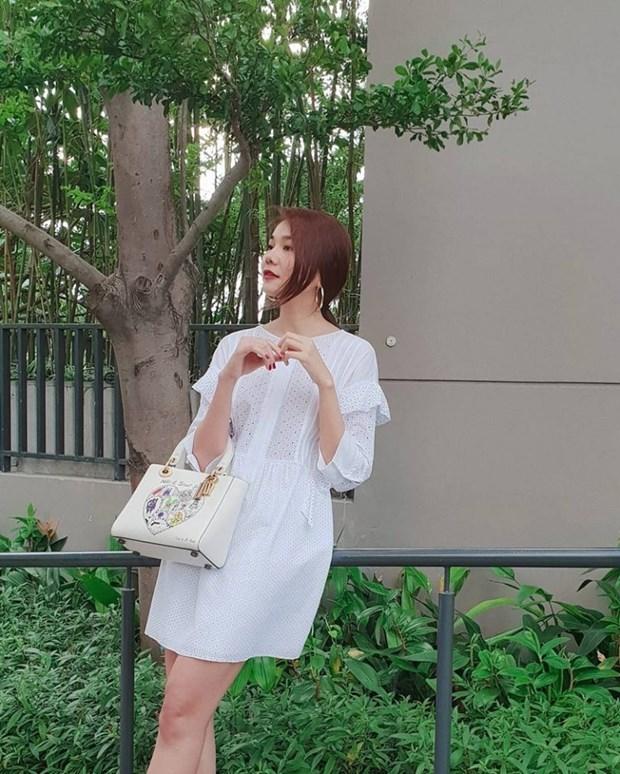 Ky Duyen, My Linh va Huong Giang do street style ngap tran hang hieu hinh anh 4