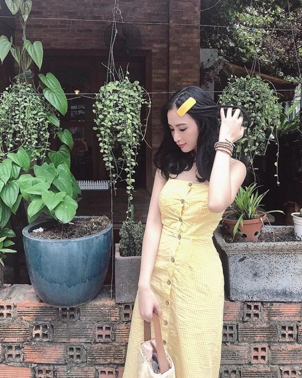 Ky Duyen, My Linh va Huong Giang do street style ngap tran hang hieu hinh anh 5