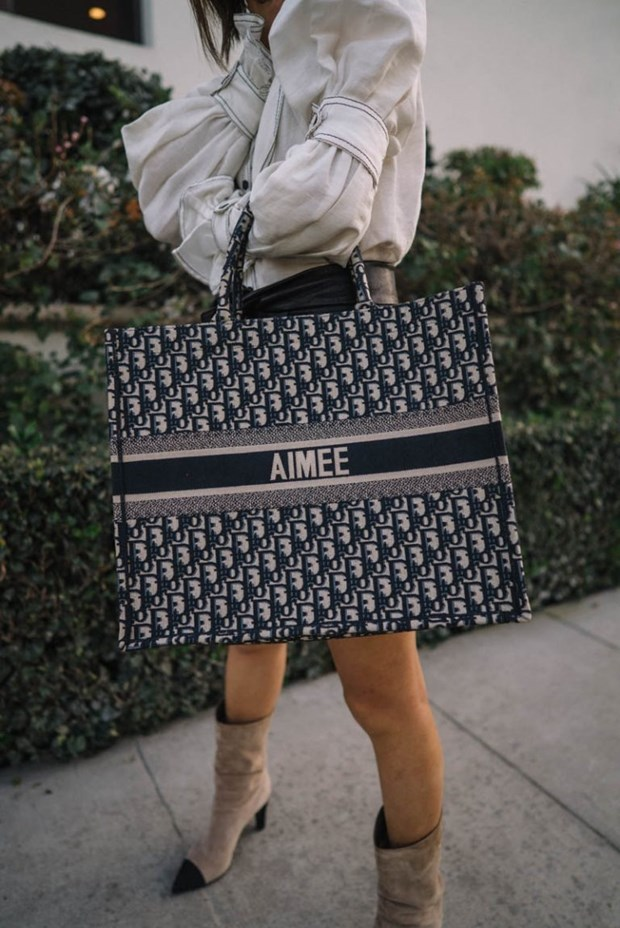Dior Book Tote - Chiec tui xach mang theo duoc ca the gioi hinh anh 14