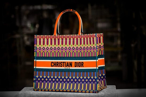 Dior Book Tote - Chiec tui xach mang theo duoc ca the gioi hinh anh 10