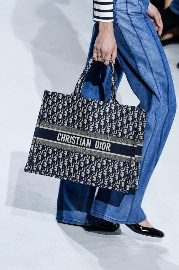 Dior Book Tote - Chiec tui xach mang theo duoc ca the gioi hinh anh 1