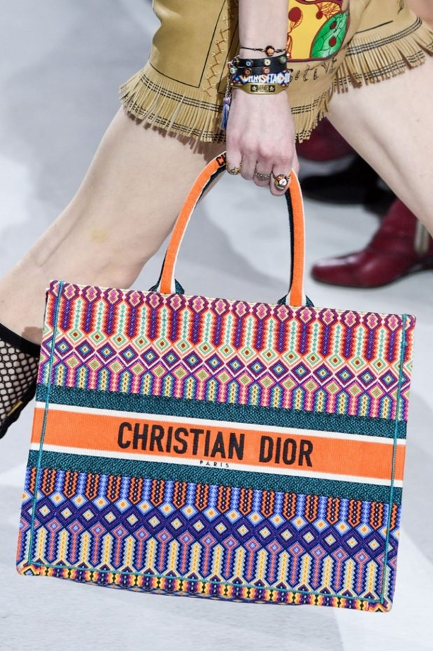Dior Book Tote - Chiec tui xach mang theo duoc ca the gioi hinh anh 2