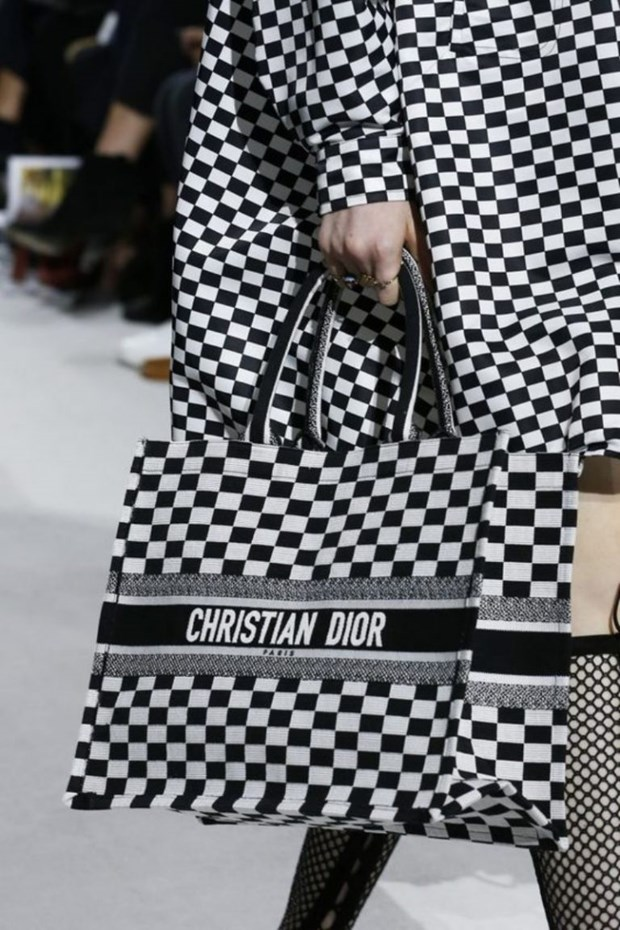 Dior Book Tote - Chiec tui xach mang theo duoc ca the gioi hinh anh 3
