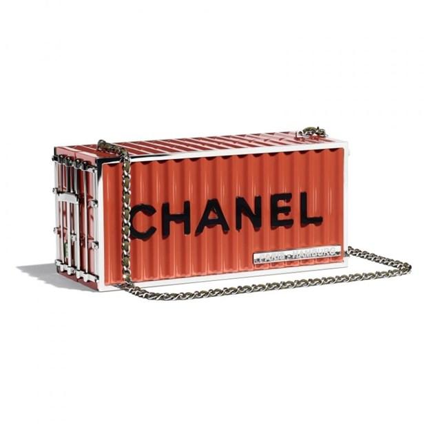 Chanel me hoac cac tin do voi tui xach hinh container, phao cuu sinh hinh anh 12