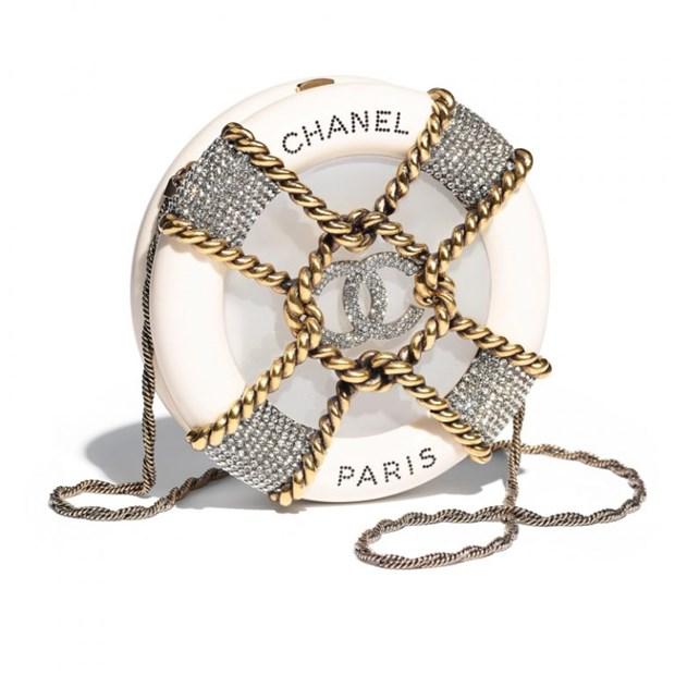 Chanel me hoac cac tin do voi tui xach hinh container, phao cuu sinh hinh anh 10