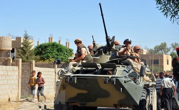 Luc luong Nga rut quan khoi khu vuc bien gioi Syria-Liban hinh anh 1