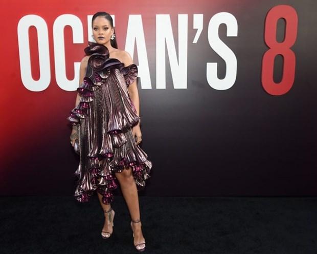 Rihanna sang chanh tuyet doi tren tham do ra mat phim Ocean's 8 hinh anh 5